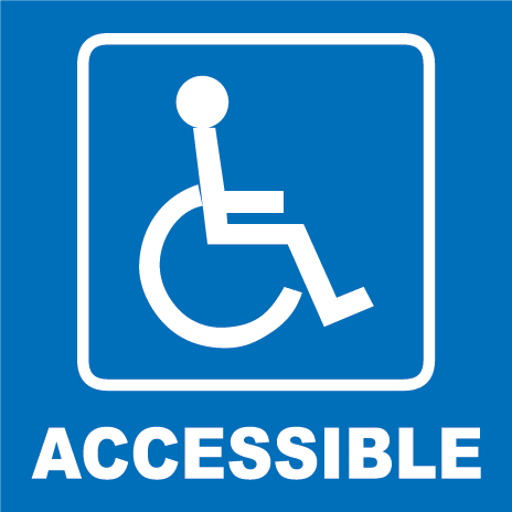 ADA wheelchair accessible
